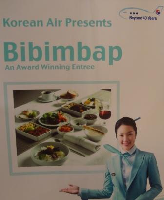 Korean Air presents Bibimbap